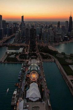 Took a stroll down Navy Pier - Chicago. Walking and taking in the beautiful view is completely free - individual exhibits cost, but completely worthwhile just to watch the boats in the harbor and the people (of course!).