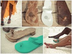 These Indian Inspired Sandals Are Made From Natural Rubber From Family Owned Farms