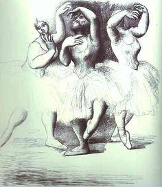 """PICASSO/""""trois danseuses"""""""