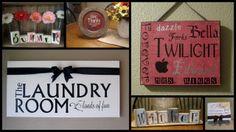 Shady Creek Vinyl Lettering Blog  LOADS of vinyl/craft ideas
