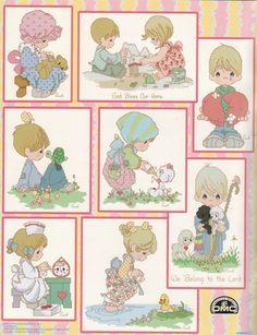 Precious Moments - Cross Stitch Patterns & Kits - 123Stitch.com