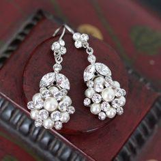 vintage wedding earrings
