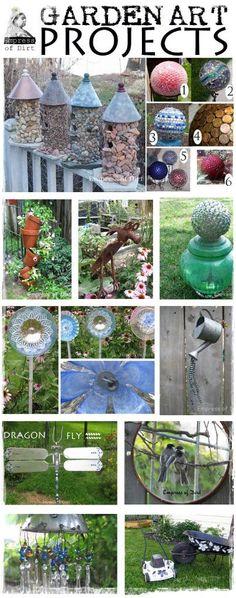 Best Garden Art Projects Of 2013   DIY & Craft Ideas