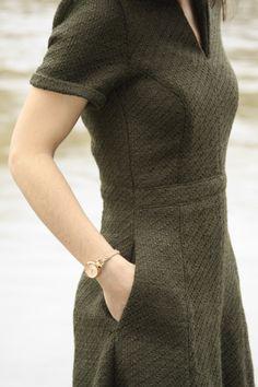 Robe Harriet - La Maison Victor Plus Fashion Sewing, Diy Fashion, Fashion Dresses, Womens Fashion, Mode City, Retro Sportswear, Kurta Neck Design, Diy Vetement, Couture Sewing