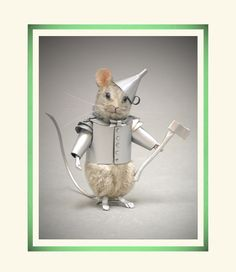 R John Wright Wizard of Oz - Tinman Mouse