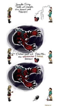 Pokémon Battles Get Weird Near the End of the Game