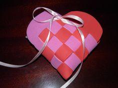 Bolsa de Doces Coração em E.V.A.