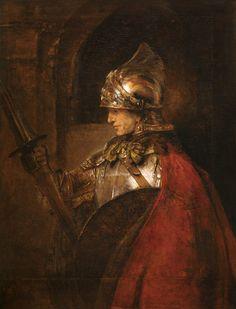 Rembrandt van Rijn-Alexander the Great / Paint. / Rembrandt