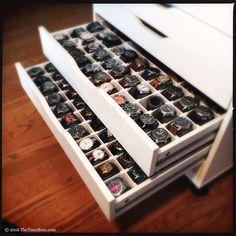 Ikea Diy Watch Cabinet