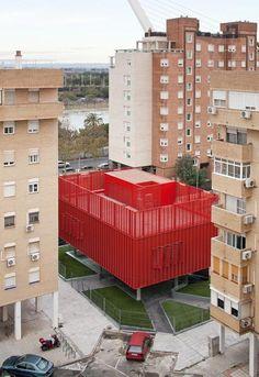 Macarena Social - CyberCentre by spanish architects MedioMundo