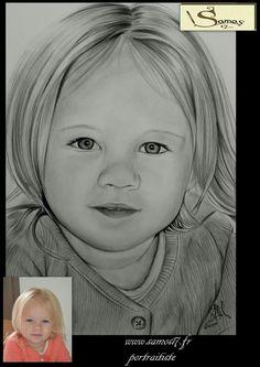 Dessin au crayon hyperrealiste. Samos17 portraitiste d,aprés vos photos sur commande.#portrait #dessin #pencil #portraitiste