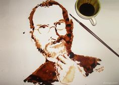 Coffee Art: Pintando con café