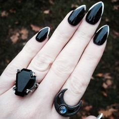 """rogueandwolf: """" Have you got your #gothic Halloween claws on point yet?!  Halloween essentials from the link in our bio  via Instagram http://ift.tt/2eM0Kbb """""""