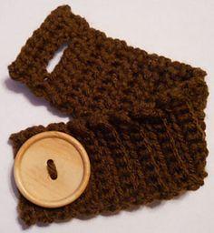 Ravelry: Button Cuff Bracelet pattern by Karen Vaughn