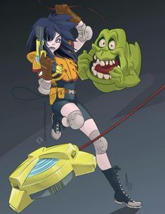 Extreme Ghostbusters Ghostbusters The Video Game, Extreme Ghostbusters, Ghostbusters 1984, Cartoon Brain, Tara Strong, Ghost Busters, Favorite Cartoon Character, Cultura Pop, Ghosts