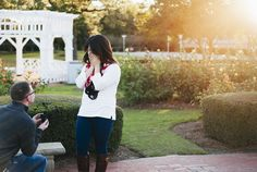 We love this photoshoot proposal! #engagement #howheasked #love