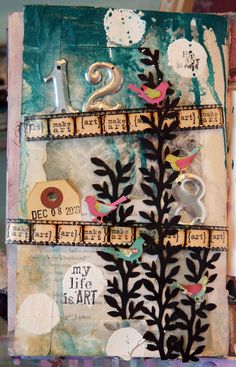 Donna Downey...art journals...my life is art