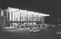 Opening of Mayne Hall, 31 March 1973