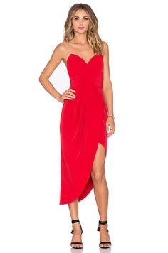 Lovers + Friends x REVOLVE Riviera Strapless Dress in Red | REVOLVE