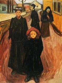 Edward Munch expressionismo alemao - Pesquisa Google