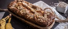 Κέικ μπανάνας χωρίς ζάχαρη (Banana bread) - madameginger.com Gluten Free Recipes, Vegetarian Recipes, Breakfast Snacks, Stevia, Sweet Recipes, Sugar Free, Banana Bread, Sweets, Vegan
