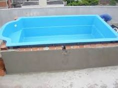 Fiber Pool Designs - Decorating Homes Shipping Container Swimming Pool, Small Swimming Pools, Small Backyard Pools, Diy Pool, Small Pools, Swimming Pool Designs, Piscina Diy, Piscina Intex, Pool Gazebo