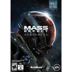 Mass Effect Andromeda - PlayStation 4 Electronic Arts Jeux Xbox One, Xbox One Games, Ps4 Games, Games Consoles, Games 2017, Playstation Games, Mass Effect 4, Mass Effect Universe, Mass Effect Andromeda Ps4