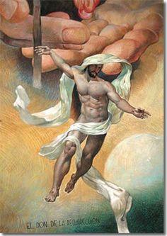 Jesús resucitado (capilla del Santísimo Sacramento, Villa de Guadalupe, México)