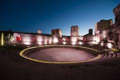 castillo biutrago de lozoya | Iluminación Castillo Buitrago de Lozoya / MUKA Arquitectura