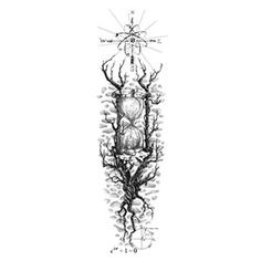 Scientific Sleeve Tattoo Design Ideas