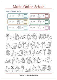 Finde alle Vielfachen von... - Mathe Aufgaben für die 3. Klasse ...