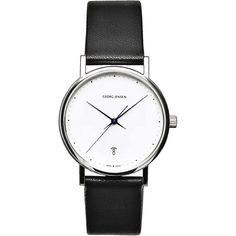 Watch designed by Henning Koppel (1918-1981) for Georg Jensen, Denmark