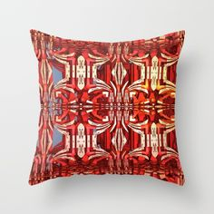Cool abstract 3-D design Throw Pillow