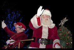 Christmas parade at Stone Mountain Christmas in Stone Mountain Park, Stone Mountain, GA