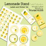 Lemonade Stand Printables