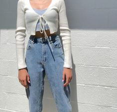 Vintage Outfits, Retro Outfits, Mode Outfits, Trendy Outfits, Outfits With T Shirts, Cotton On Outfits, Vintage Fashion, Vintage Clothing, Aesthetic Fashion