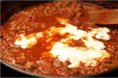 Фото к рецепту: Спагетти болоньезе