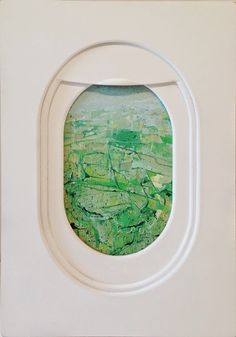 Jim Darling Paints The Abstracted Landscapes Seen Through Airplane Windows Airplane Window, Ghost In The Machine, 2d Design, French Art, Abstract Landscape, Art Blog, Art Inspo, Illustrators, Illustration Art
