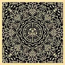 Elaborate design from Obey brand.