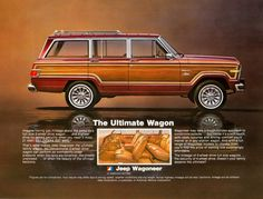 "1981 ads | 1981 Jeep Wagoneer Limited Photo ""Ultimate Wagon"" Ad 