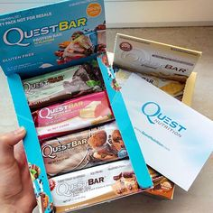 Every delicious flavor within will help you eat toward your goals and love every bite along the way. Quest is more than just a protein bar, we're your partner on the path to extraordinary. Gluten Free Bars, Quest Nutrition, Protein Bars, Loose Weight, Work Outs, Feel Good, Packing, Fan, Quest Protein Bars