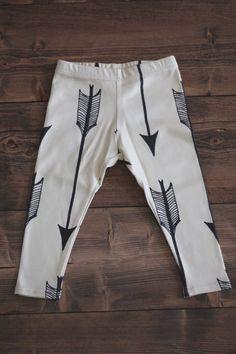 Arrow Print children's leggings | Salt City Emporium