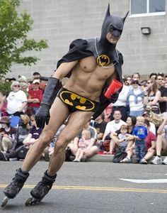 Who needs a Batmobile when you've got Bat Blades?