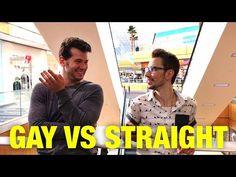 HIDDEN CAM: Gay Vs. Straight Experiment! - YouTube