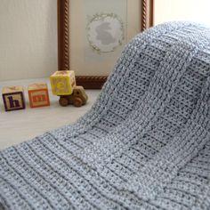 Berry Hedge Baby Blanket PDF Crochet Pattern