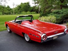 Ford Thunderbird...Re-pin brought to you by #autoInsuranceagents at #HouseofInsurance in Eugene, Oregon