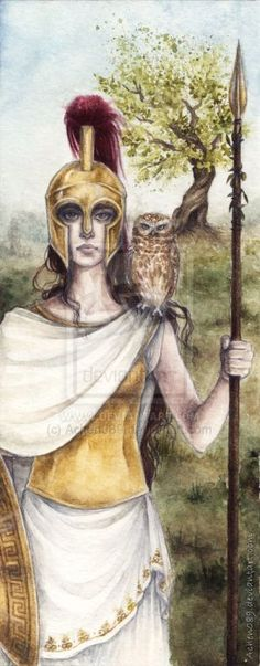 Athena is known for giving Greece the Olive tree, hence the name Athens, Greece. Olive oil was great for cooking and bathing and was greatly appreciated by the Greeks.