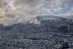 For the last couple of weeks we've been experiencing some not entirely unexpected winter weather in Bergen. A small snowfall last week and some cold temperatures were followed up with a slig…