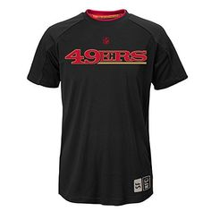 NFL Youth Boys 820  San Francisco  49ERS COVERT SS TOP Black XL 18 * You can get more details by clicking on the image.