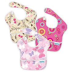 Bumkins SuperBib Baby Bib Waterproof Washable Stain and Odor Resistant Months - Pink Fizz Butterfly Flutter Floral Feeding Baby Solids, Solids For Baby, Baby Feeding, New Baby Checklist, Baby Solid Food, Waterproof Bibs, Starting Solids, Introducing Solids, Pink Butterfly